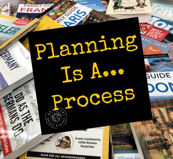 Planning — Part III:  The Process